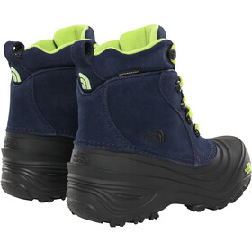 The North Face Chilkat Lace II Botas Niños, cosmic blue/lime green